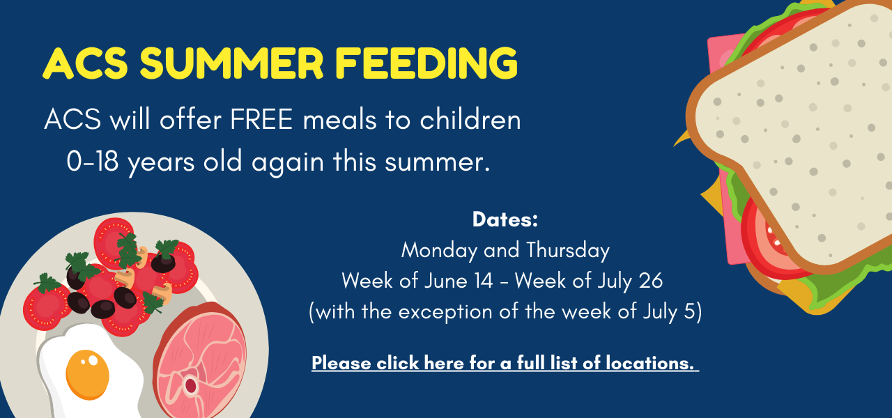 ACS Summer Feeding