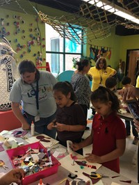 Second Grade Art Quest Field Trip 2017