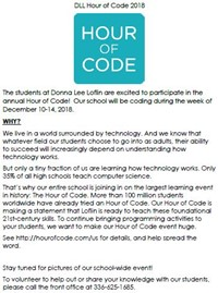 2018 DLL Hour of Code